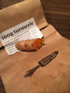 Fresh turmeric