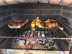 Succulent ribs and our Chicken Asado!