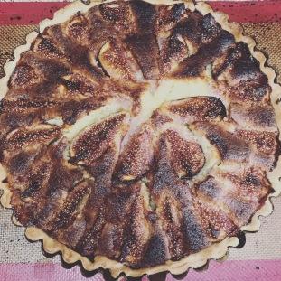Fig, Lemon and Almond Tart